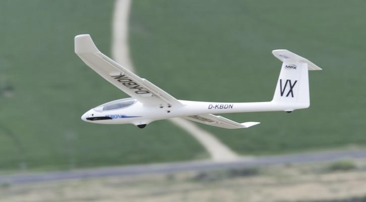 Multiplex Heron Test Flown at Eagle Butte